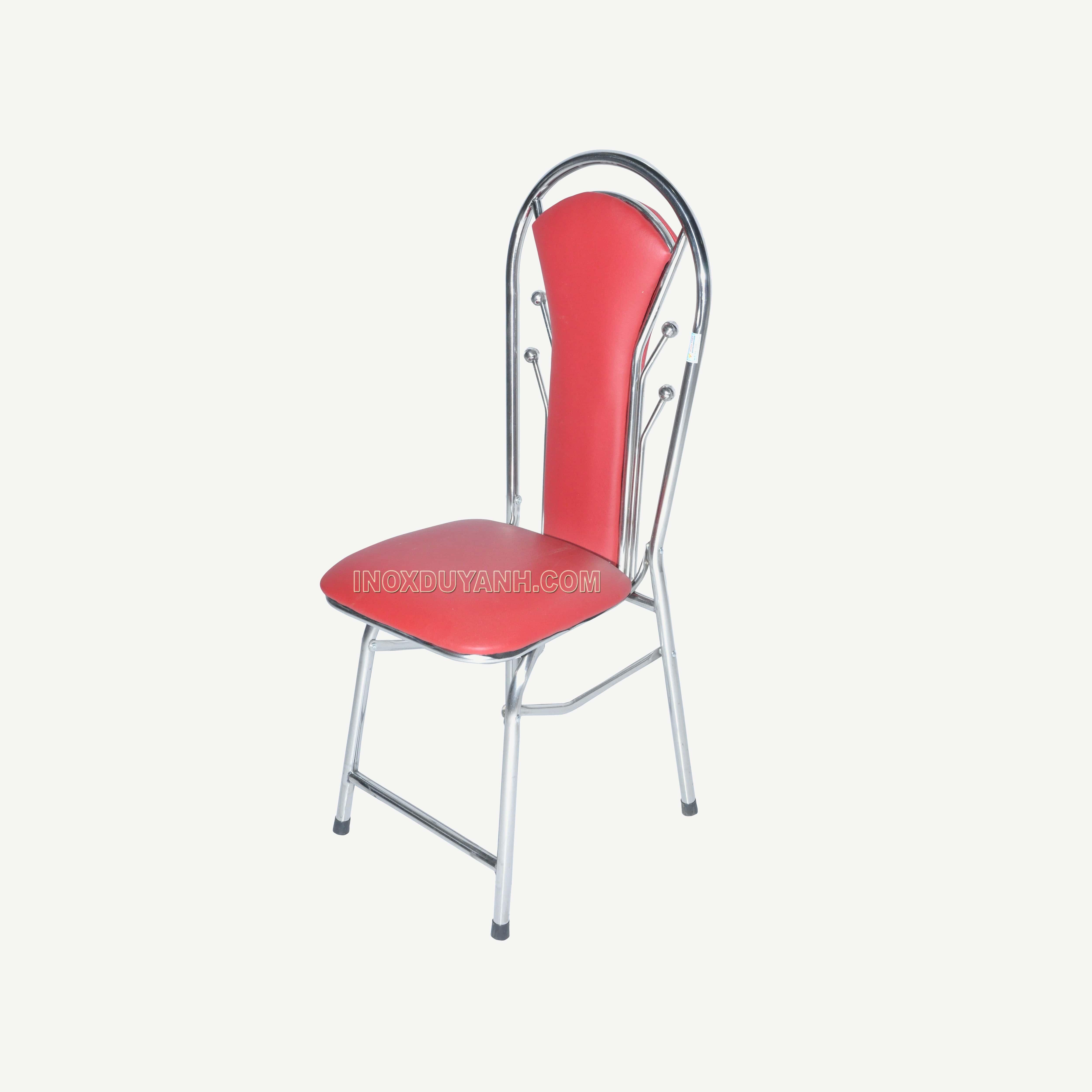 Ghế inox 4 bi | Ghế inox tựa lưng