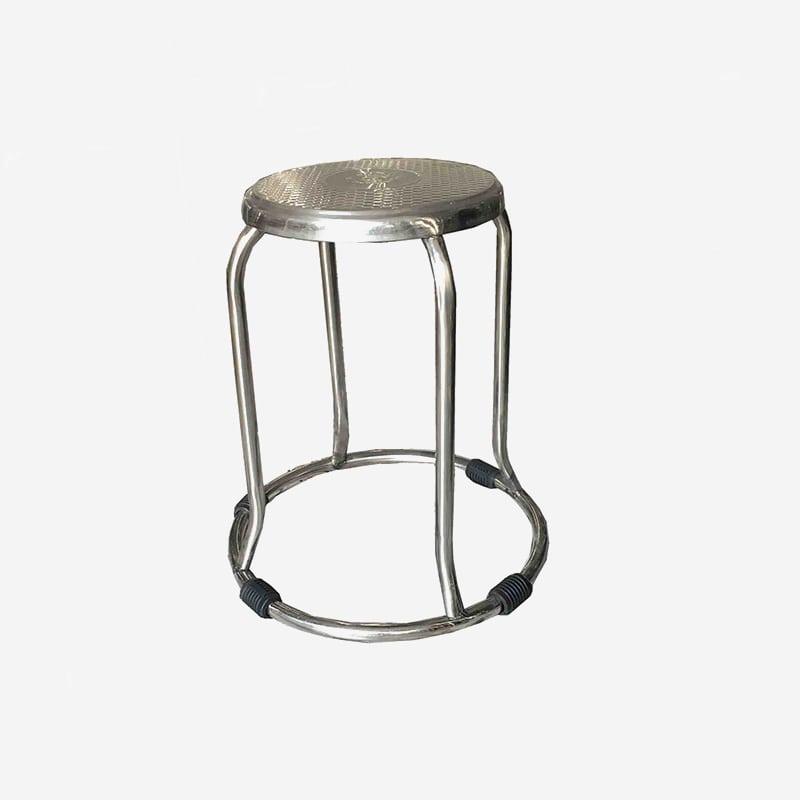 Ghế inox tròn | Ghế đôn inox