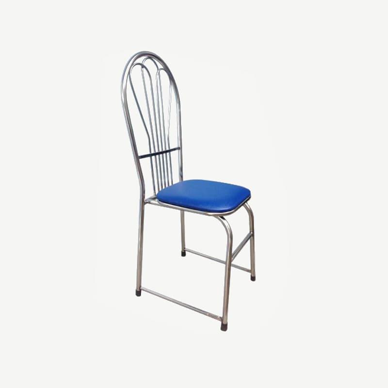 Ghế inox tựa mặt đệm | Ghế inox tựa lưng