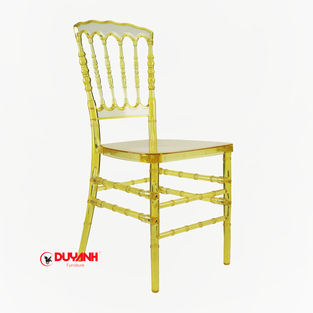 Ghế Napoleon nhựa đúc trong suốt nhập khẩu