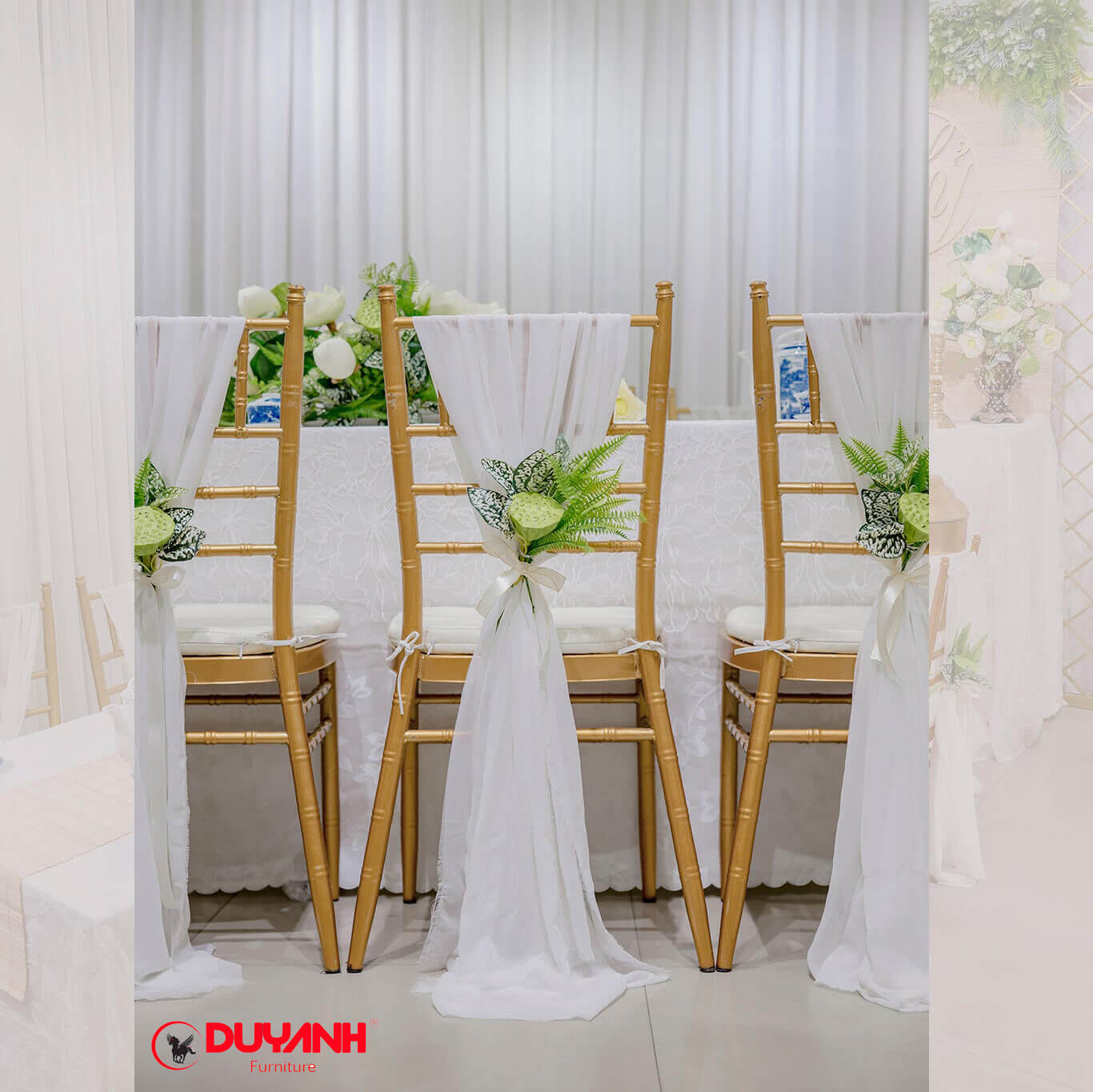 Ghế Tiffany | Ghế nhà hàng tiệc cưới