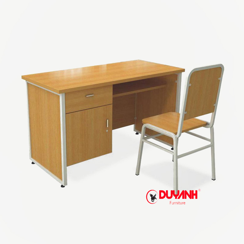 Bàn ghế giảng viên kết hợp ngăn kéo