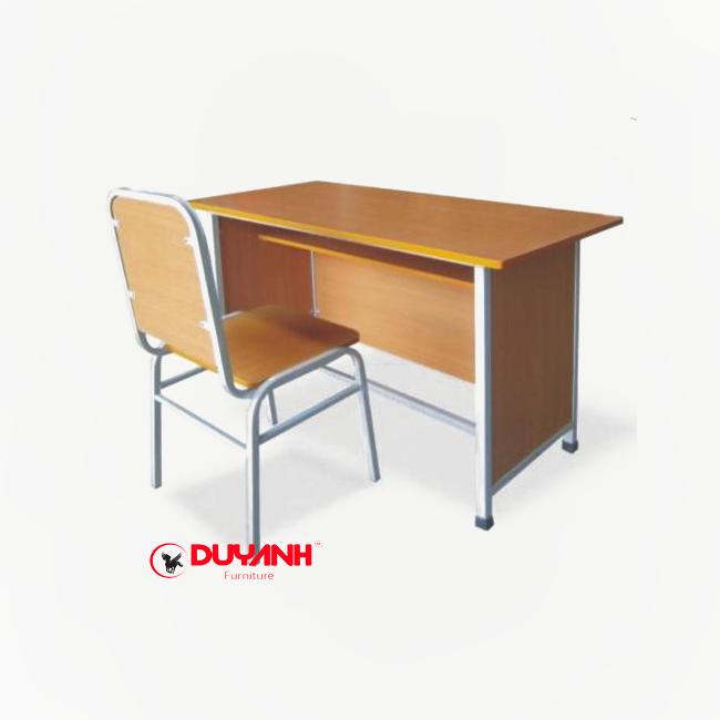 Bàn ghế giáo viên kết hợp ngăn bàn