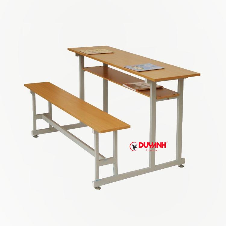 Bàn ghế đôi hs có ngăn - BGHS:08