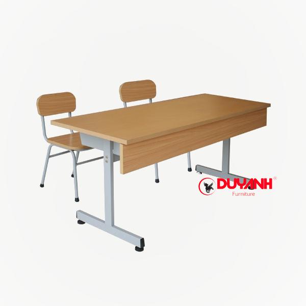 Bàn ghế hs ngăn bàn sắt - BGHS:12